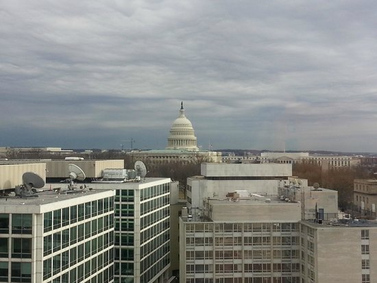 Washington Court Hotel on Capitol Hill: Our view of the Capitol Building