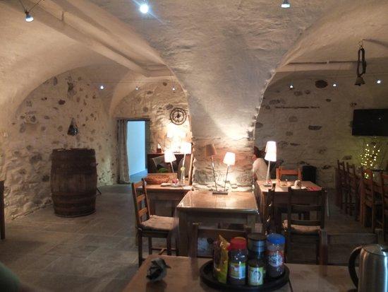 Domaine du Grand Cellier : breakfast room