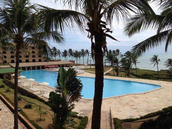 Coliseum Beach Resort: Vista do apartamento