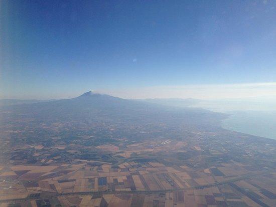 Monte Etna: Vista do vulcão Etna