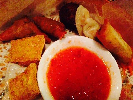 Flavours Restaurant: Veg Appetizer Sampler