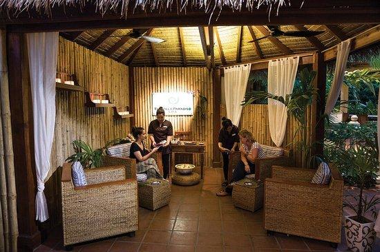 Paradiso Spa: Spa Reception