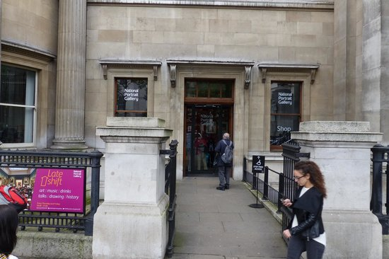 National Portrait Gallery entrance