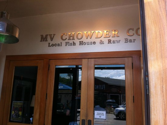 Martha's Vineyard Chowder Company: Front Door