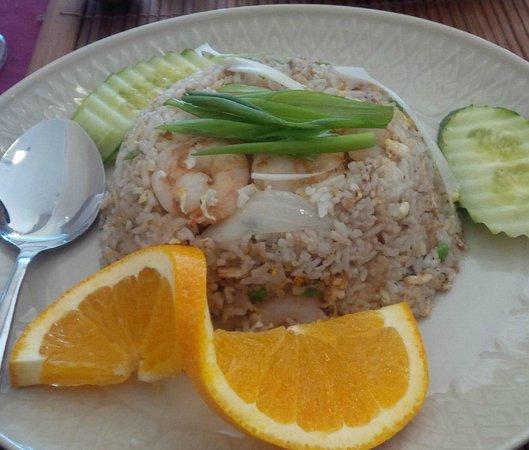 Thai Flame Restaurant : Khao Pad - Thai Fried Rice with Shrimp