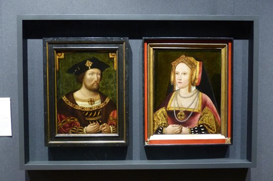 National Portrait Gallery: King Henry VIII and Katherine of Aragon