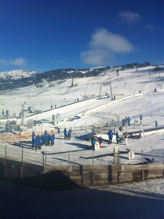 Perisher Valley Hotel : View from Mountain View rooms