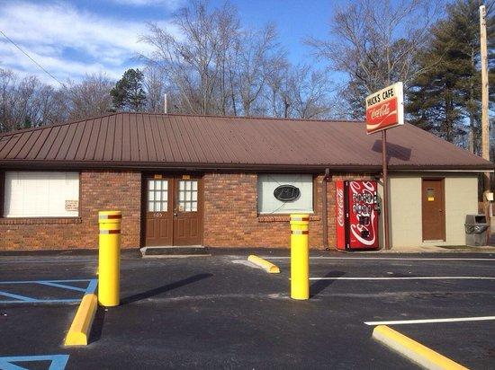 Huck's Cafe in Commerce, GA.