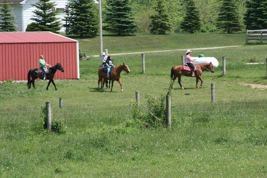Heartland Country Resort: Horseback riding
