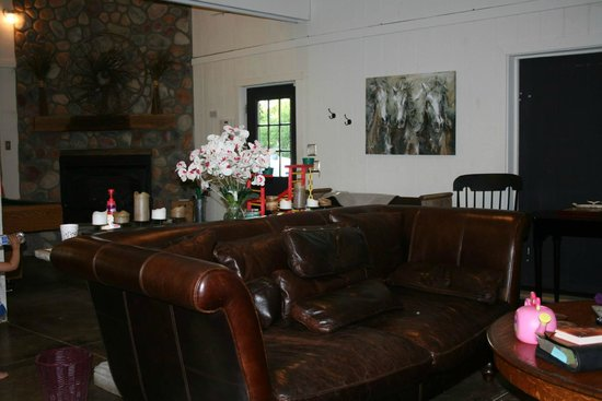 Heartland Country Resort: Lodge guest area