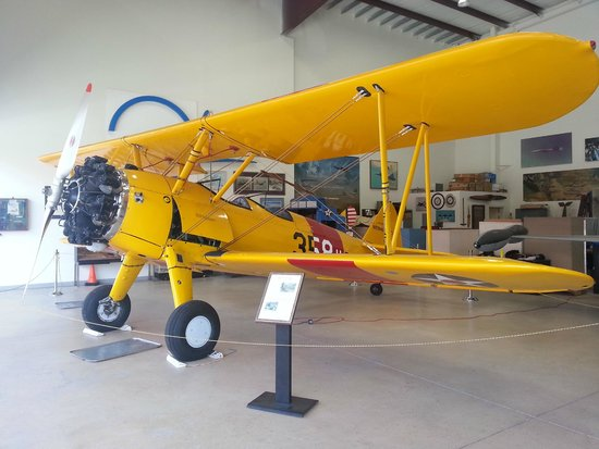 Western Museum of Flight: A Stearman biplane