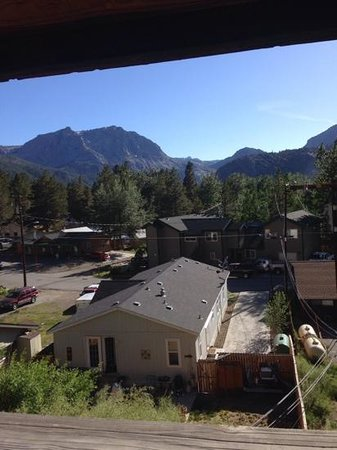 June Lake Villager: Great View from our Balcony. Rm 126