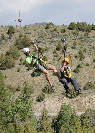 Montana Whitewater Rafting and Zipline on the Yellowstone River: Ryan