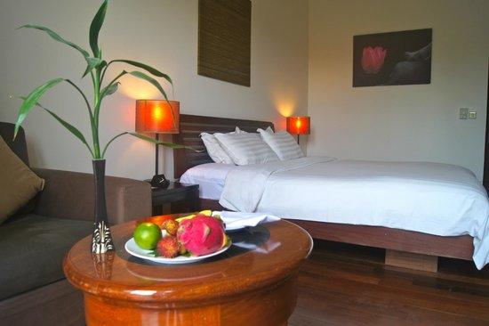 Lotus Blanc Resort: 広々とした部屋