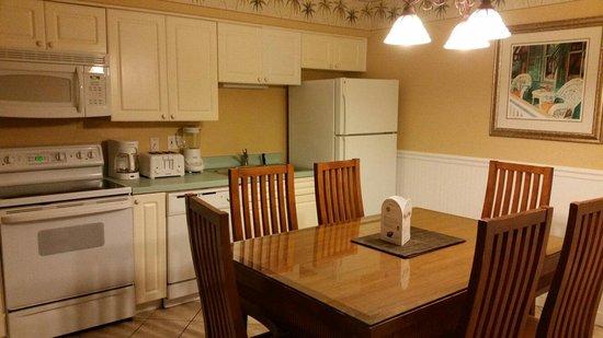 Liki Tiki Village: Villa 207D kitchen. Not updated yet.