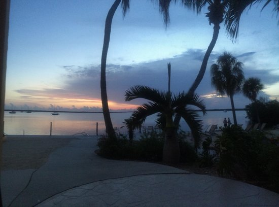 Hampton Inn Key Largo: View from our patio