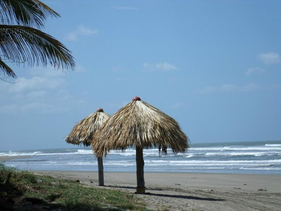 Hotel Casa de Pacifico Masachapa Playa : Playa