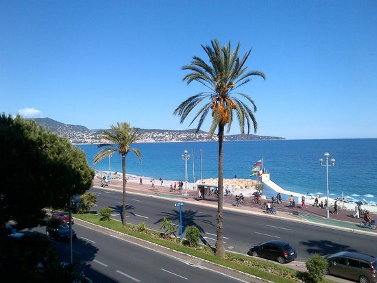 Radisson Blu Hotel, Nice: Room View from Radisson Blue 1