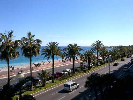Radisson Blu Hotel, Nice: Room View from Radisson Blue 3
