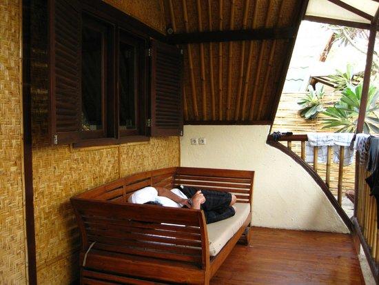 7SEAS Cottages : Balcony