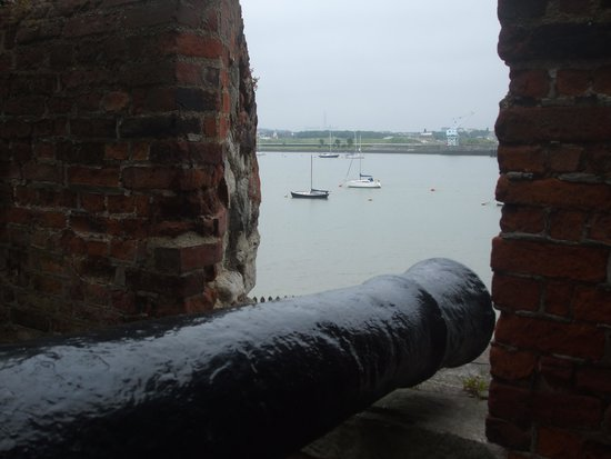 Upnor Castle: lovely views