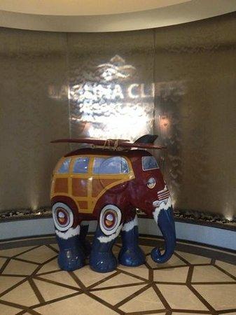 Laguna Cliffs Marriott Resort & Spa: lobby