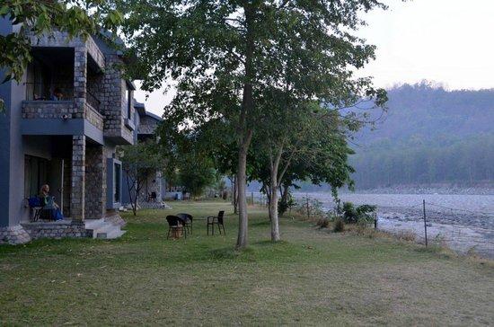 Club Mahindra - Corbett : The river facing rooms