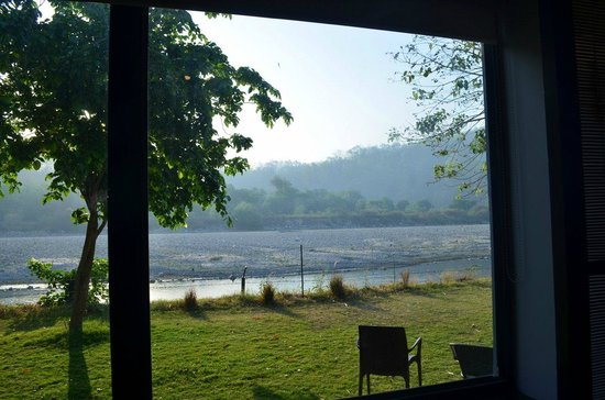 Club Mahindra - Corbett: View of the river from the room