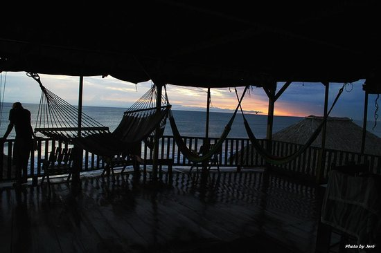 La Barra Surf Camp: View From deck