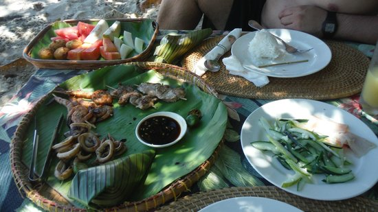 El Nido Resorts Apulit Island: Private luncheon