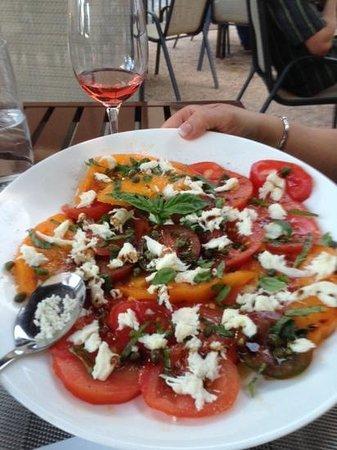 626 on Rood : Heirloom Tomato Salad