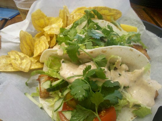 The Westin Grand Cayman Seven Mile Beach Resort & Spa : Fish tacos at Tortugas