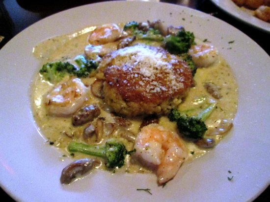 Something Different : It may look wonderfully, but it was okay.. Crabcake was delicious.