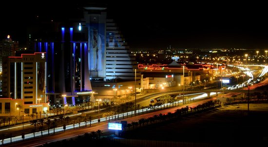 The Westin City Centre Bahrain : night view