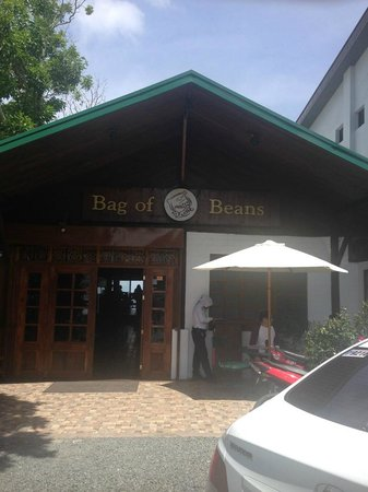 Bag of Beans Cafe and Restaurant : 入り口