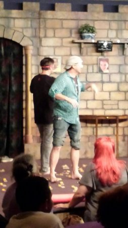 Mama's Comedy Show : Alphabet and mouse traps!  Ouch but oh too funny!