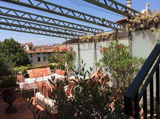Hotel Cellai: terrace :)