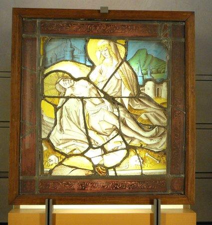 Musée des Beaux-Arts de Lyon : Vitrail
