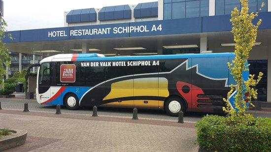 Van der Valk Hotel Schiphol : Hotel Shuttle Bus
