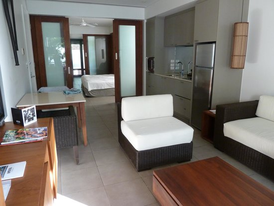 Hilton Fiji Beach Resort & Spa: Room from front end