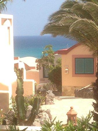 SENTIDO H10 Playa Esmeralda: vue de la terrasse de la chambre