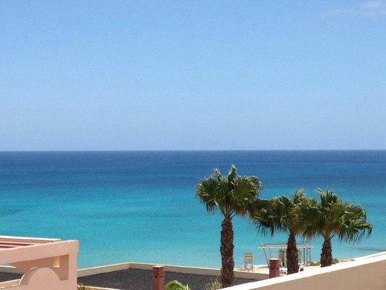 SENTIDO H10 Playa Esmeralda: vue de la terrasse du restaurant