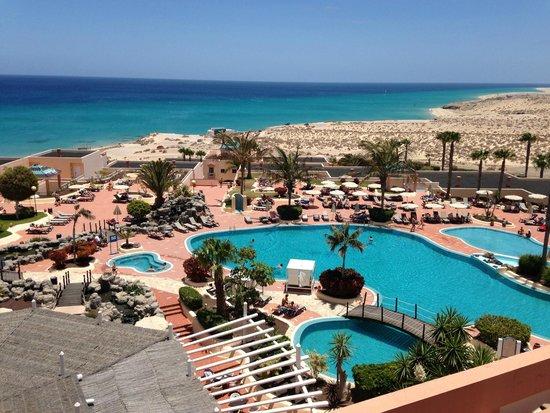 H10 Sentido Playa Esmeralda : vue de la terrasse du hall