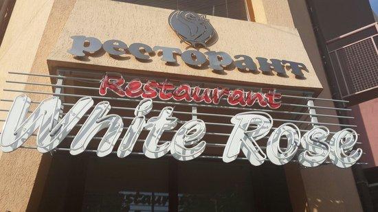 White Rose: Табличка