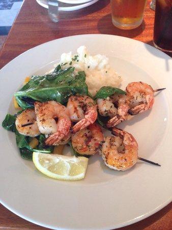 Fog Harbor Fish House : tasty shrimp