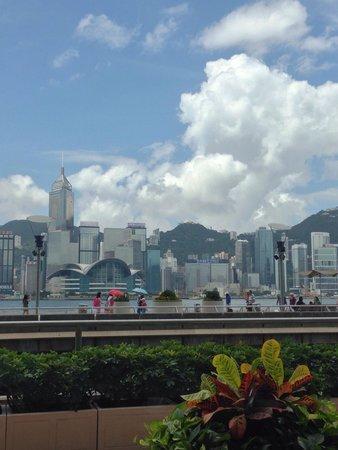 InterContinental Hong Kong: View from breakfast