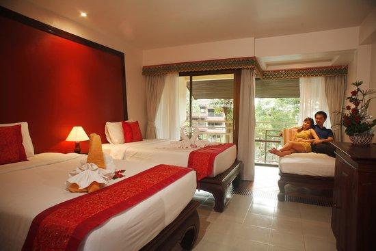 Chanalai Flora Resort: Deluxe Room