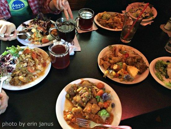 Gaia's Garden: All-you-can-eat dinner!