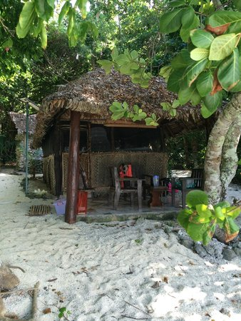 Tranquillity Island Resort & Dive Base: Fare