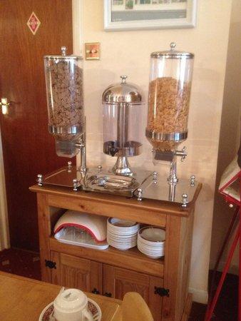 Blenheim Hotel: Dining room